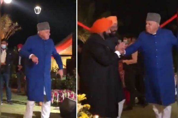 Dance Video Of Farooq Abdullah Goes Viral