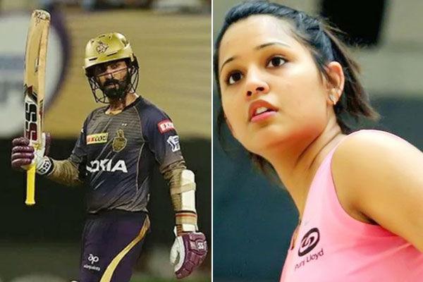 Dipika Pallikal jokes she will try hook punch on Dinesh Karthik
