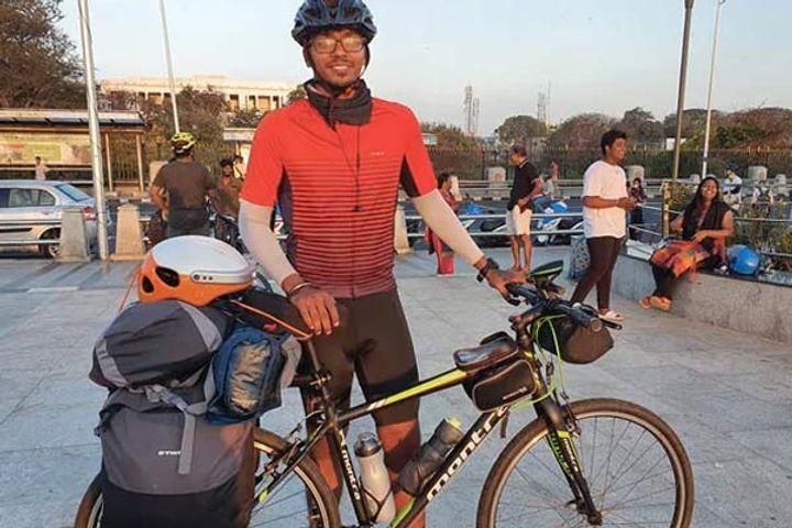 Chennai techie to cycle across India