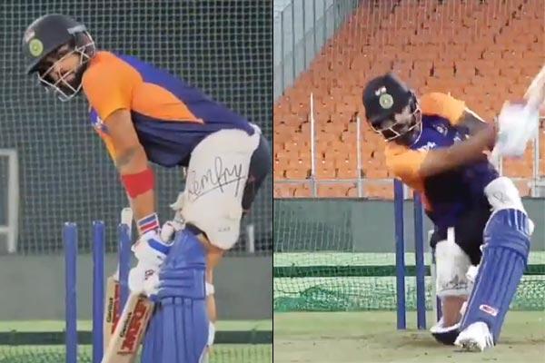 Virat Kohli On India Vs England T20 Series Team India Practice In Narendra Modi Stadium