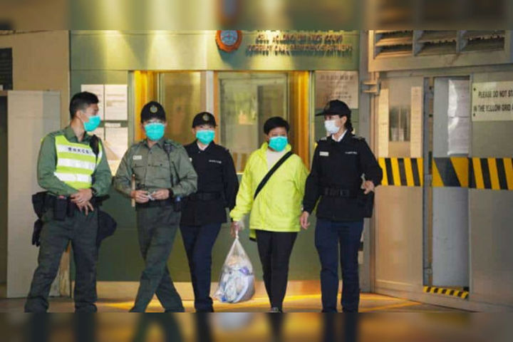 Court rejects bail pleas of Hong Kong activists