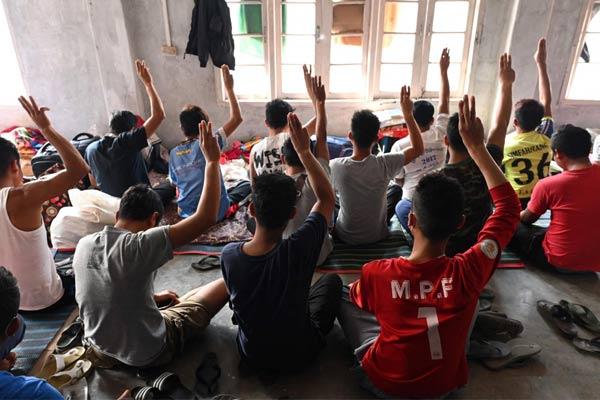 Myanmar nationals seek refuge in India