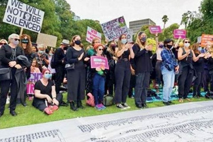 85 thousand women march against justice inequality and sexual violence in 40 Australian cities