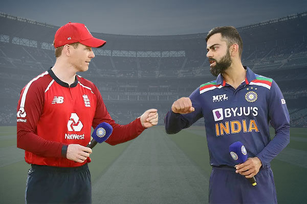 The fourth T20 match between India and England will be played from 7 pm today