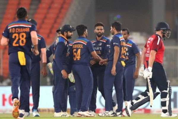 Indian Cricket Team Defeated England In 5th T20 To Clinch Series