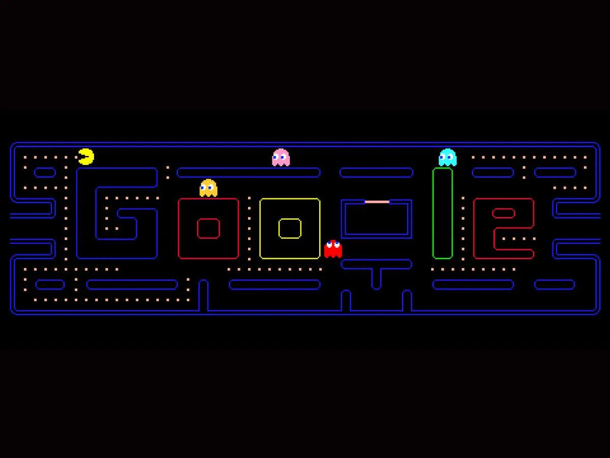 Pac Man Google Doodle Game
