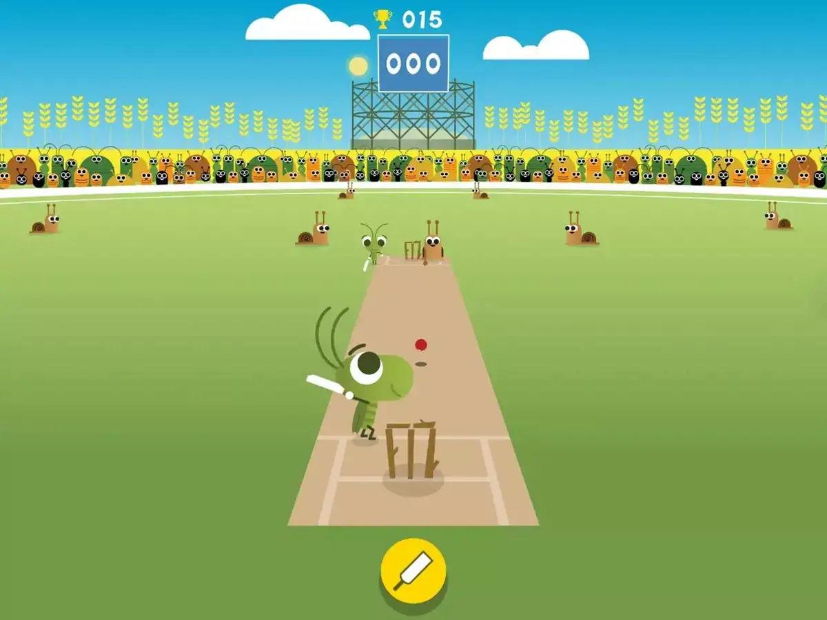 Cricket Google Doodle Game