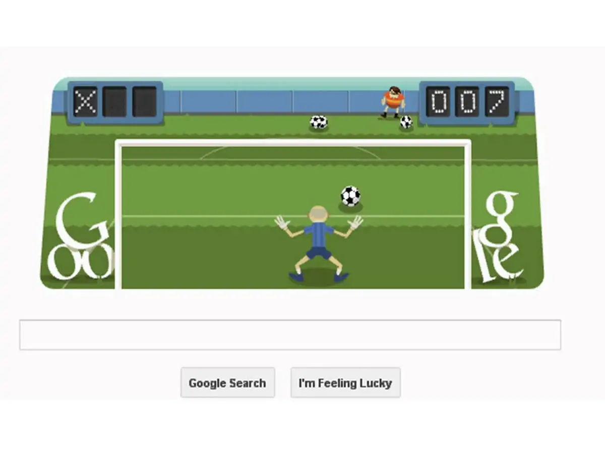 Soccer Google Doodle Game