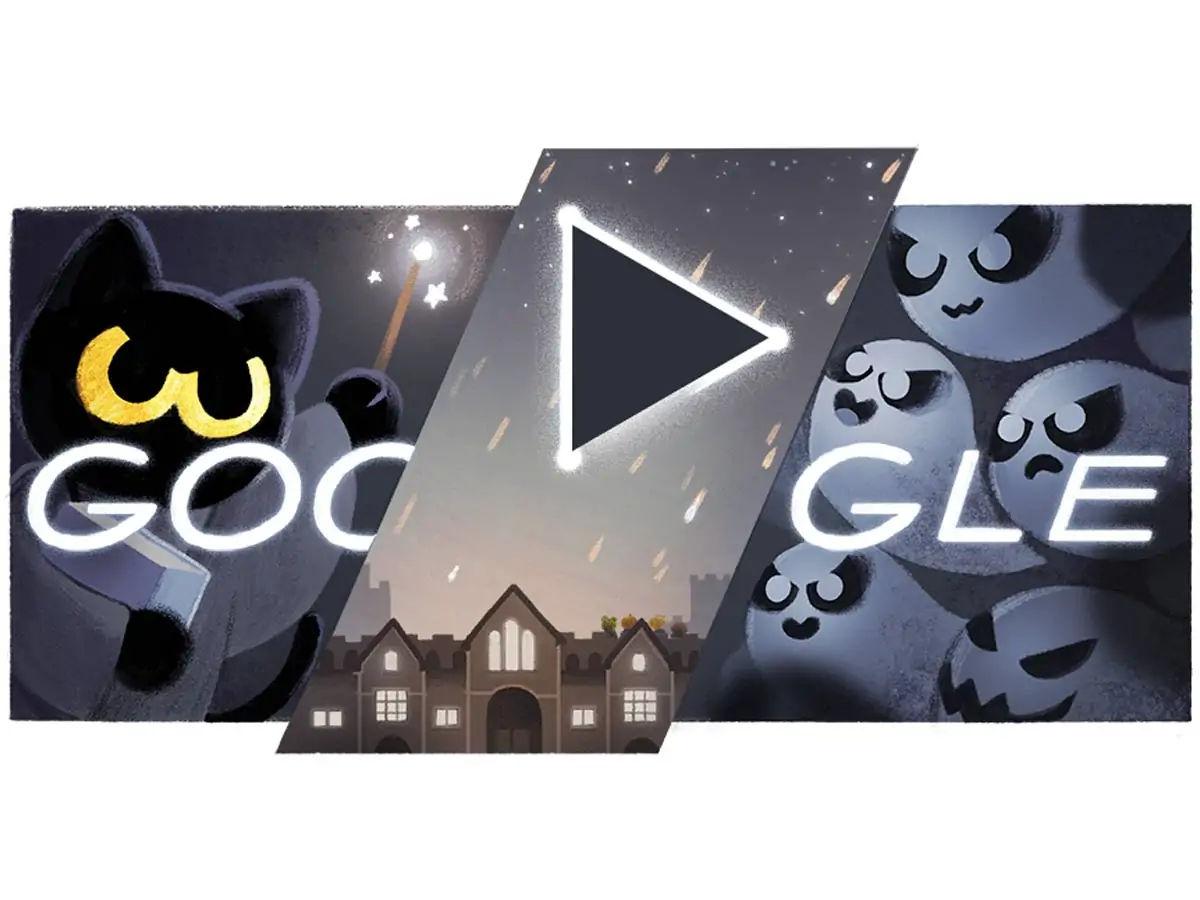 Halloween Google Doodle Game