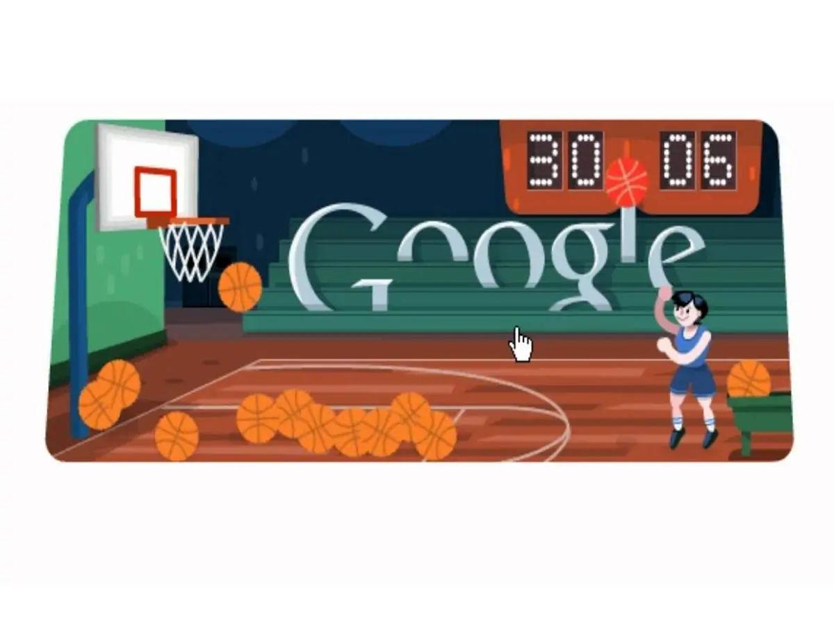Basket Ball Google Doodle Game