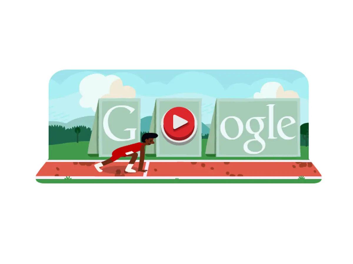 Hurdles Google Doodle Games