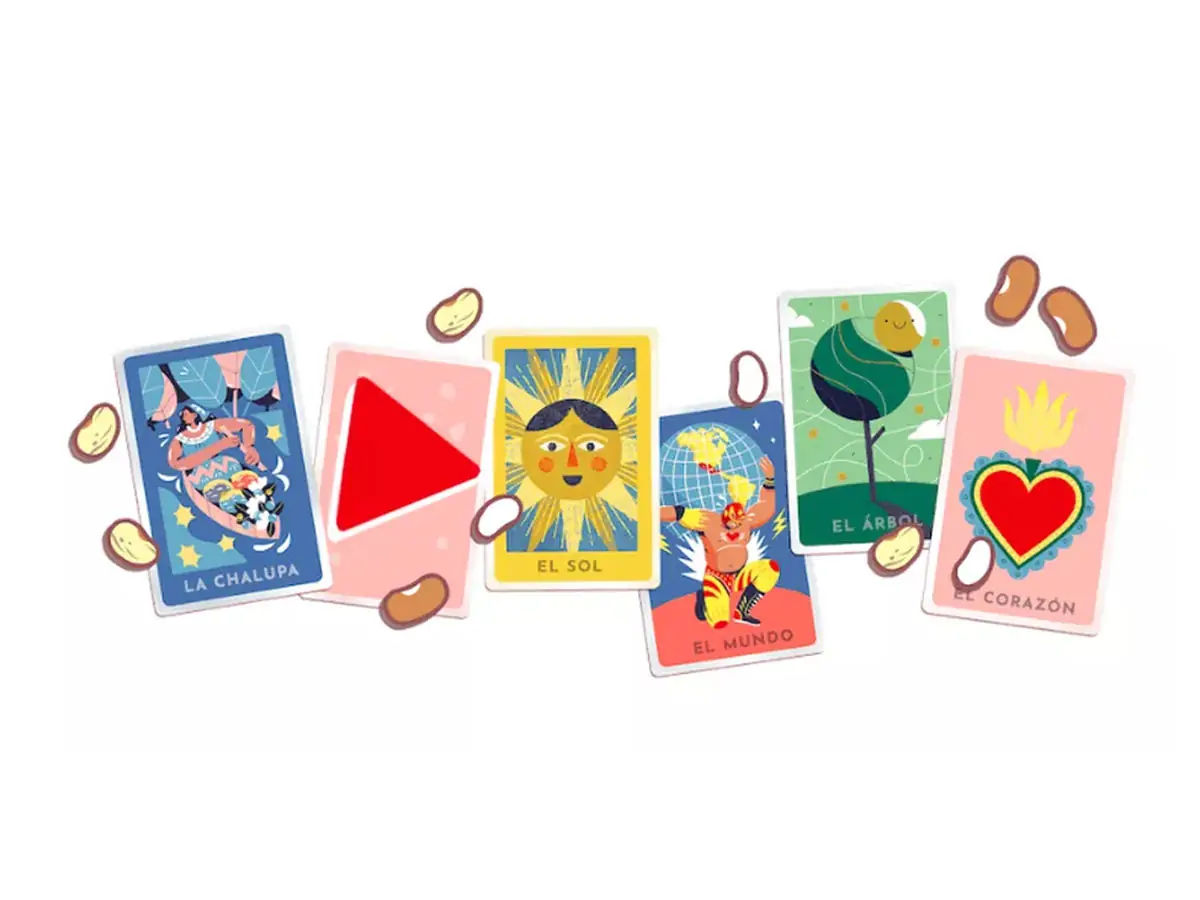 Loteria Google Doodle