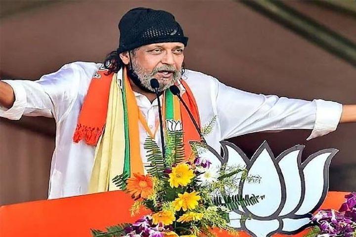 Road show of BJP leader Mithun Chakraborty starts in Bankura