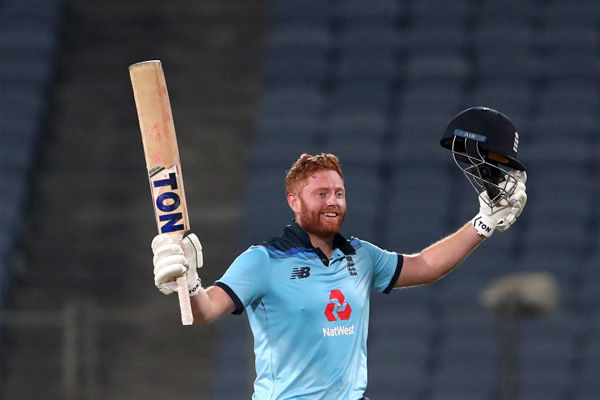 Jonny Bairstow brings up his 11th hundred in must-win match vs India in Pune