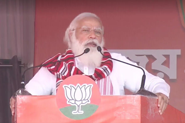 PM Modi to conduct election rallies in Kerala, Tamil Nadu and Puducherry today