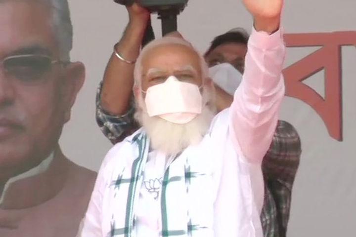 PM Narendra Modi Rally In Tamil Nadu