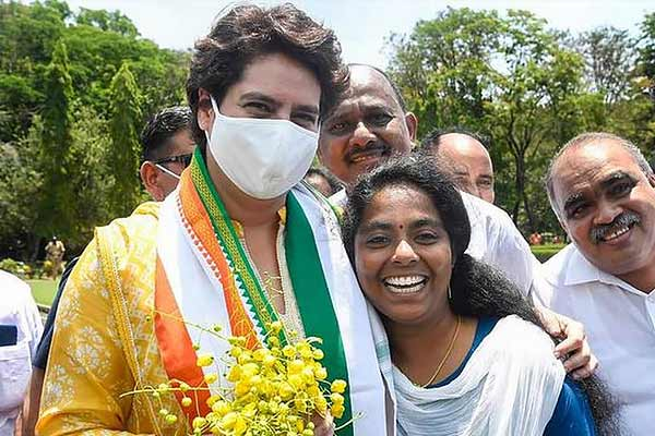 Priyanka Gandhi Vadra Attacks On Bjp Government