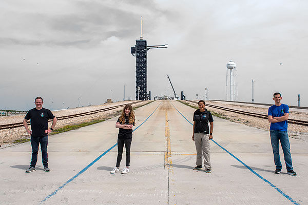 1st All-Civilian spaceflight by SpaceX
