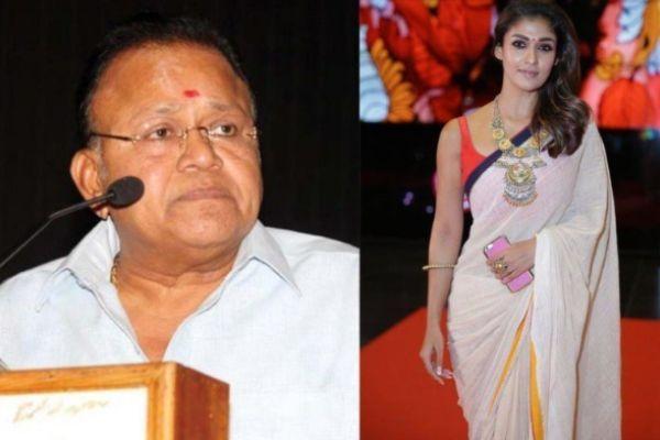 Radha Ravi gave controversial statement about Nayantara Chinmai Sripada took a dig