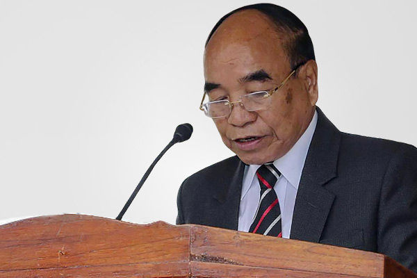 Mizoram CM on Myanmar refugees