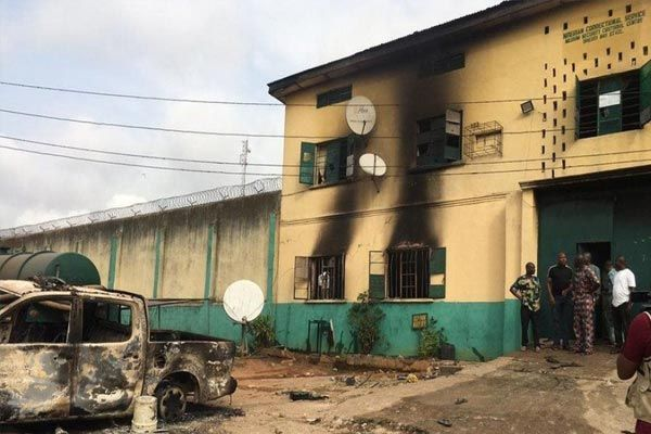 1,844 inmates escape in Nigeria