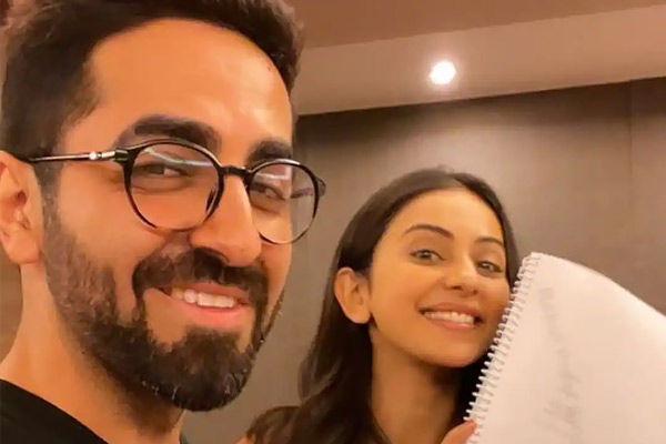 Ayushmann and Rakul started the script reading session of the film Doctor Ji and the Shooting will s