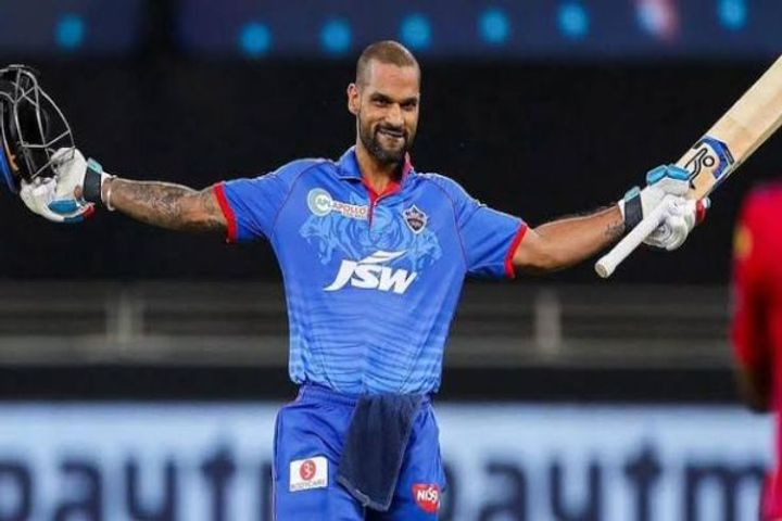 Shikhar Dhawan made 2 records by playing 85 runs inning also surpassed Virat Kohli