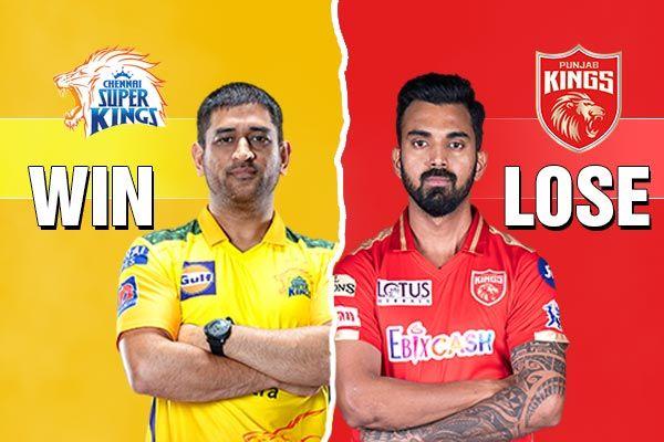 Chennai Superkings and Punjab Kings