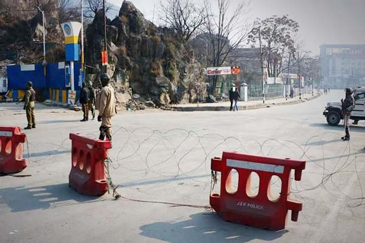 All Borders Sealed In Jammu and Kashmir