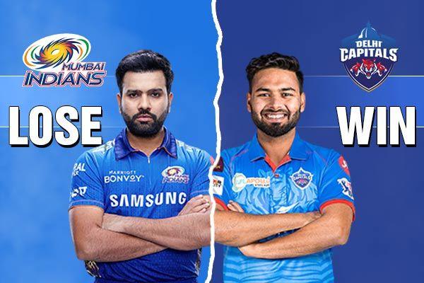 Delhi Capitals beat Mumbai Indians by 6 wickets