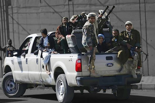 US accuses Iran of supporting Houthis