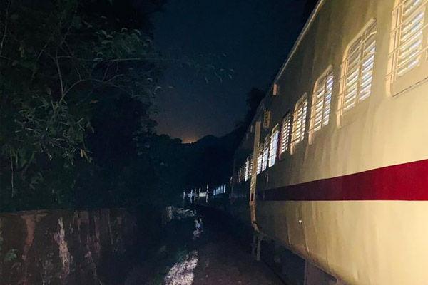 Naxals derail train