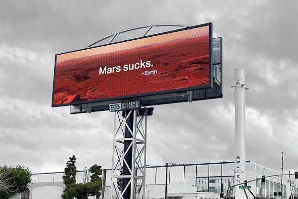 Board criticising Elon Musk's Mars program