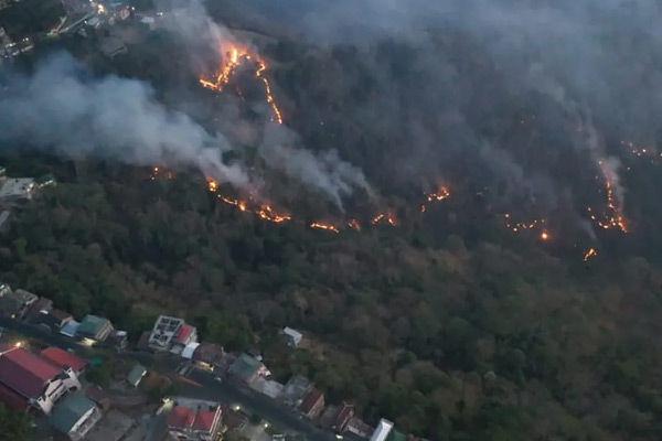 Probe on Mizoram forest fire