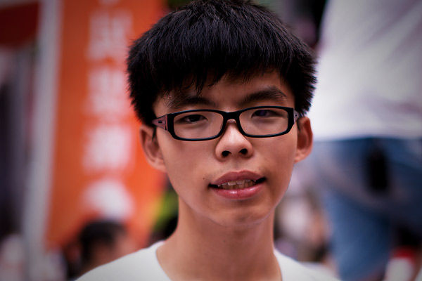 Joshua Wong pleads guilty