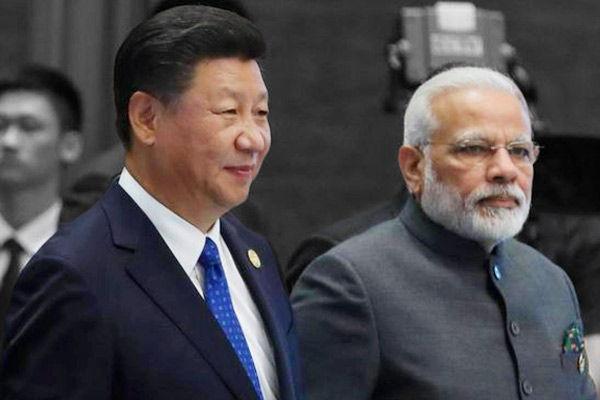 Xi Jinping and PM Modi