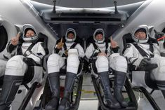 SpaceX capsule returned to Earth carrying 4 astronauts from International Space Station