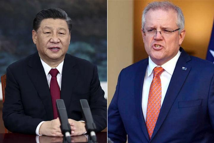 China suspended economic talks with Australia