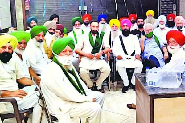 Farmers Organisations Of Punjab Decided To Oppose Lockdown In Punjab On May 8
