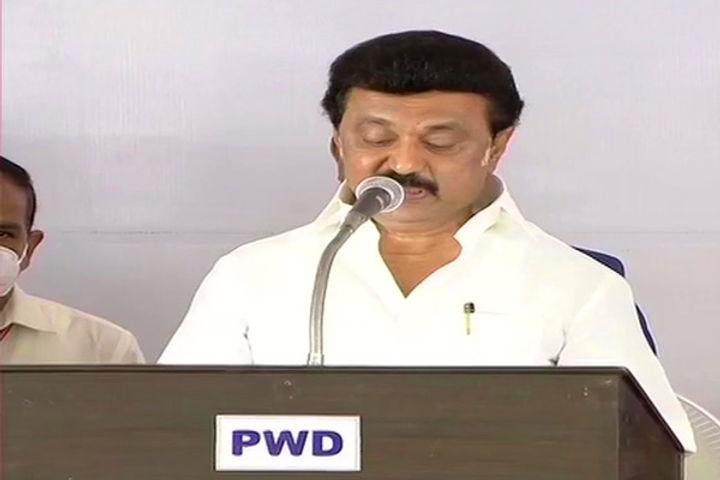 MK Stalin Takes Oath As Tamil Nadu Chief Minister