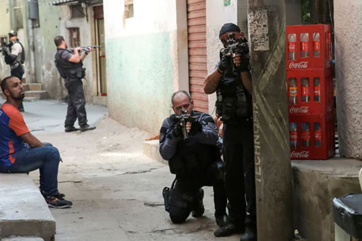 25 Killed In Deadliest Brazil Drug Gun Battle