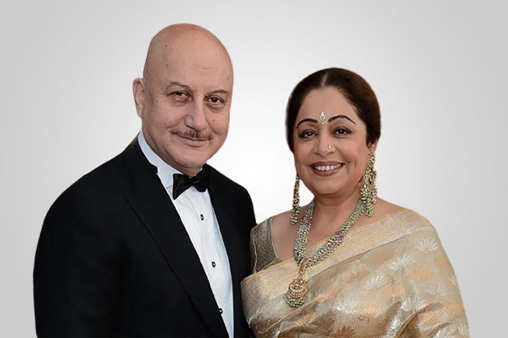 Kirron Kher and Anupam Kher
