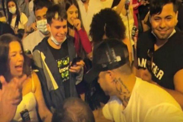 Spain People Celebrates End Of Corona Lockdown With Street Parties