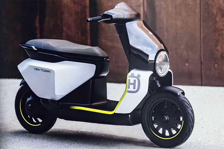 Husqvarna unveils electric two wheeler range new electric scooter will run 95 km in single charge