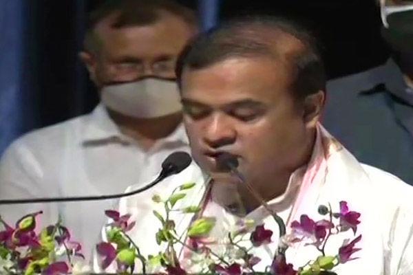 Himanta Biswa Sarma takes oath as CM