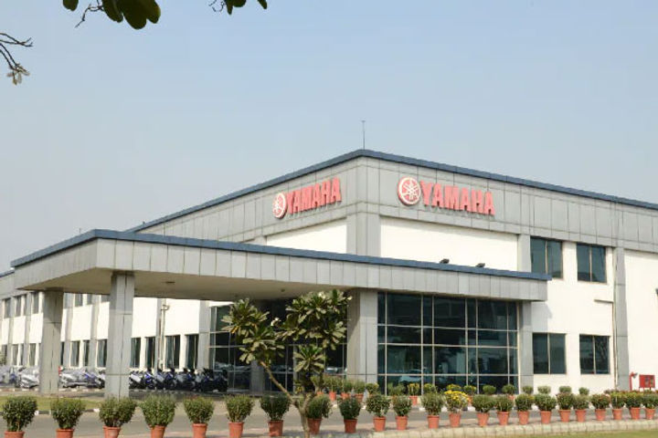 Yamaha stops work at its 2 production plants in India
