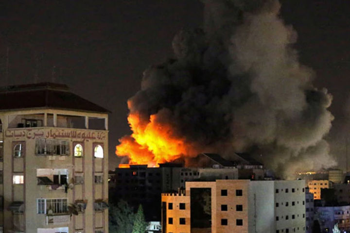 Bloody Conflict Continues In Israel And Gaza