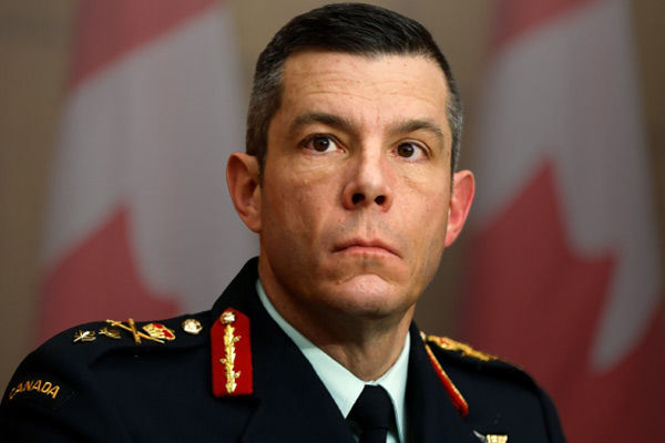 Canadian military official fired