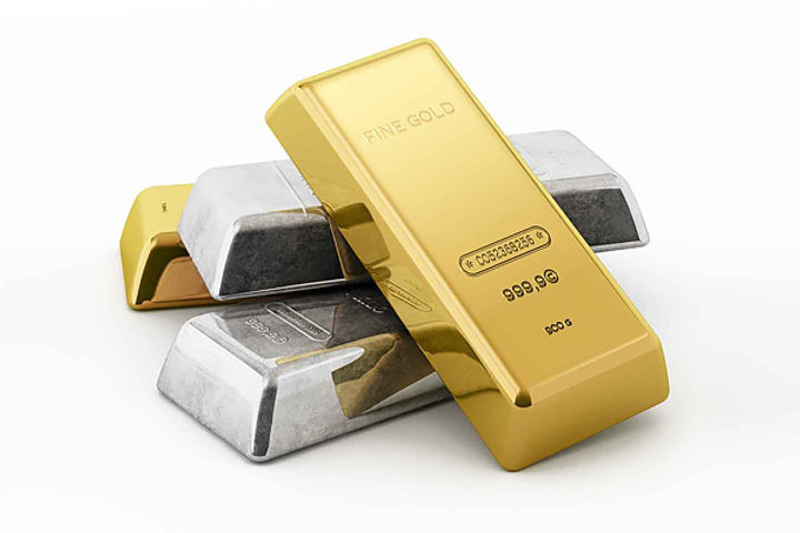 Gold and silver prices again increased today