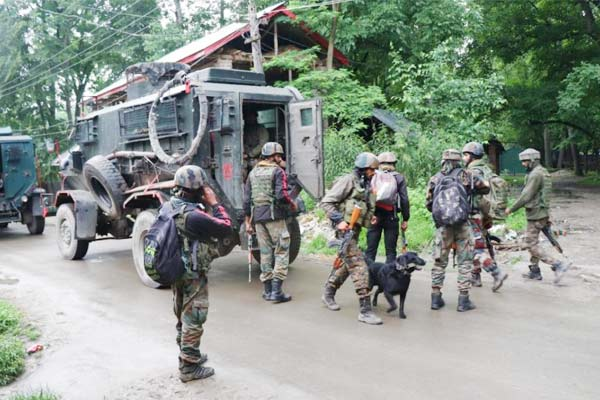 2 terrorists of al Badr organization killed during encounter in Khanmoh Srinagar